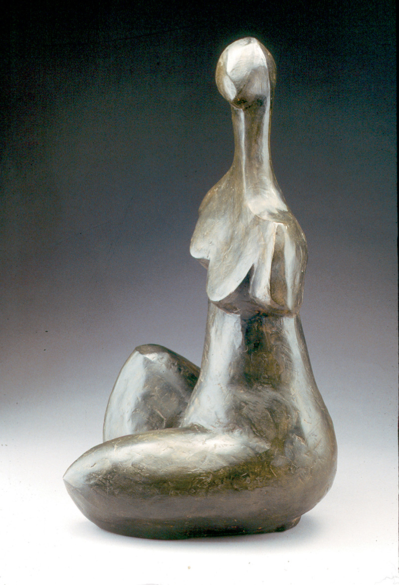 Star Gazer bronze abstract